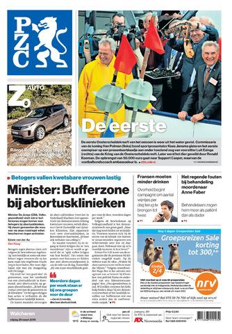 Provinciale Zeeuwse Courant 2019-03-29