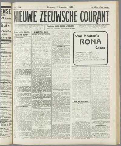 Nieuwe Zeeuwsche Courant 1912-11-02