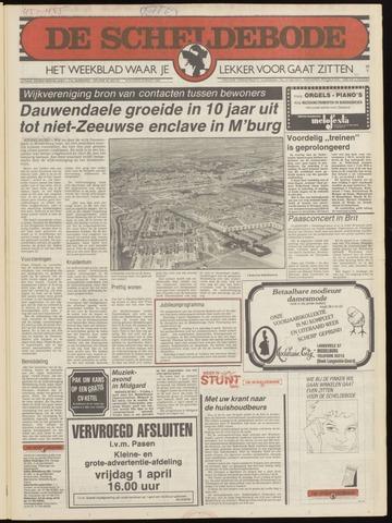 Scheldebode 1983-03-30