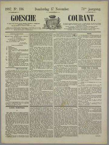 Goessche Courant 1887-11-17