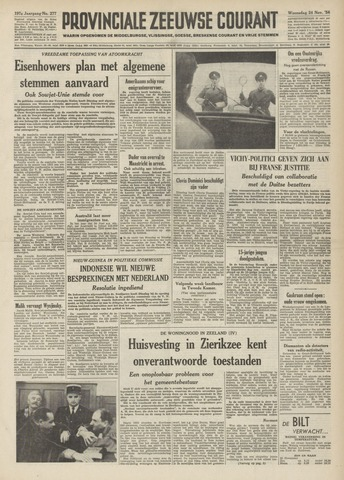 Provinciale Zeeuwse Courant 1954-11-24