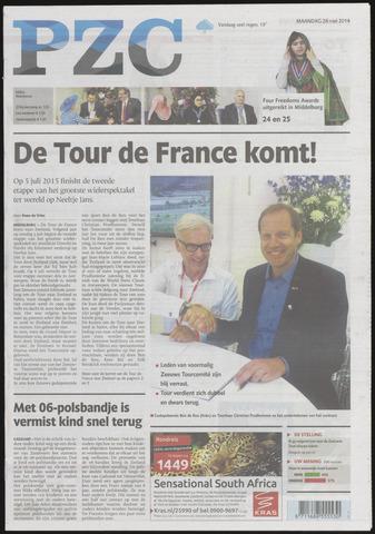 Provinciale Zeeuwse Courant 2014-05-26