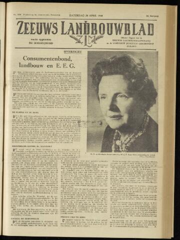 Zeeuwsch landbouwblad ... ZLM land- en tuinbouwblad 1960-04-30
