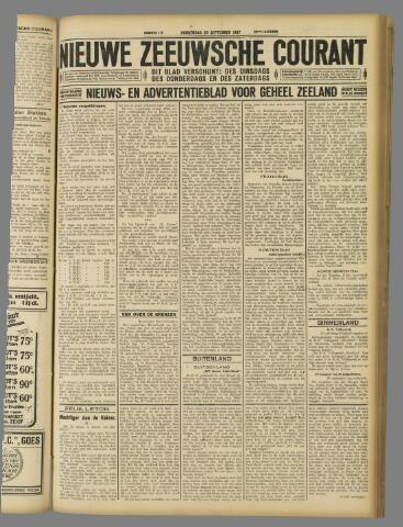 Nieuwe Zeeuwsche Courant 1927-09-29