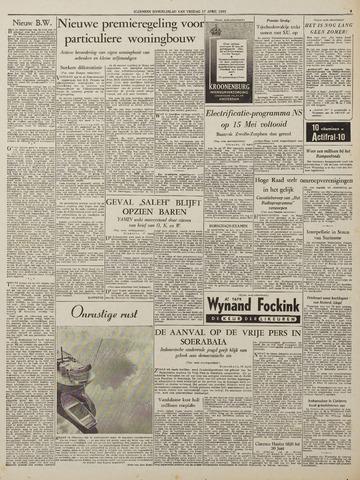 Watersnood documentatie 1953 - kranten 1953-04-17