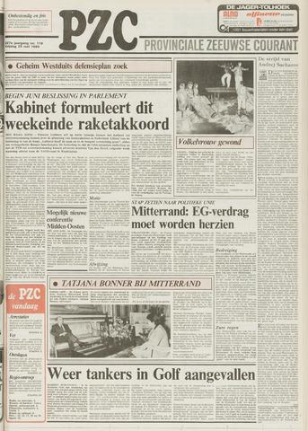 Provinciale Zeeuwse Courant 1984-05-25