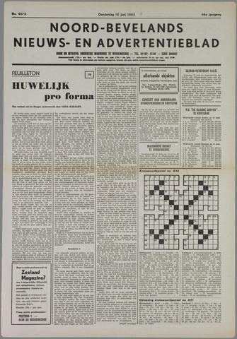 Noord-Bevelands Nieuws- en advertentieblad 1983-06-16