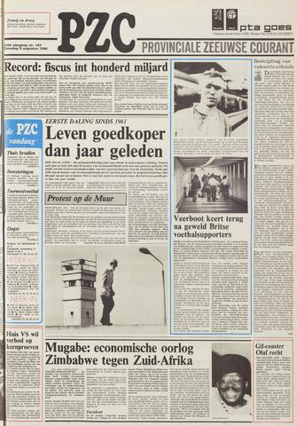 Provinciale Zeeuwse Courant 1986-08-09