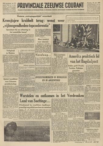Provinciale Zeeuwse Courant 1958-07-29