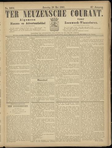 Ter Neuzensche Courant. Algemeen Nieuws- en Advertentieblad voor Zeeuwsch-Vlaanderen / Neuzensche Courant ... (idem) / (Algemeen) nieuws en advertentieblad voor Zeeuwsch-Vlaanderen 1897-05-29