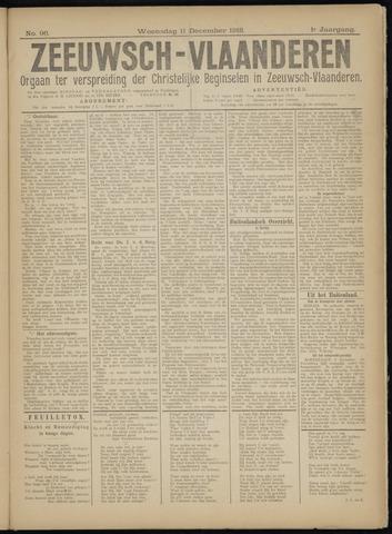 Luctor et Emergo. Antirevolutionair nieuws- en advertentieblad voor Zeeland / Zeeuwsch-Vlaanderen. Orgaan ter verspreiding van de christelijke beginselen in Zeeuwsch-Vlaanderen 1918-12-11