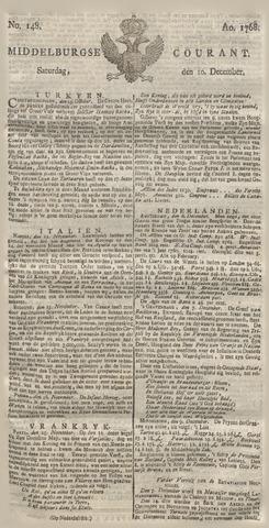 Middelburgsche Courant 1768-12-10