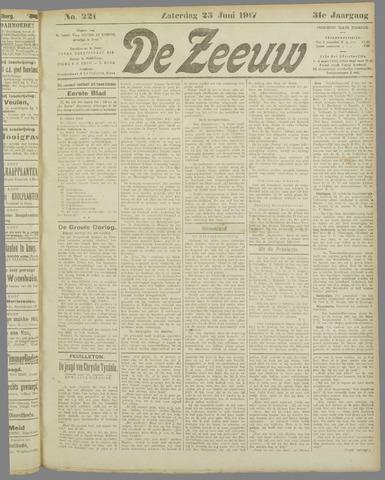 De Zeeuw. Christelijk-historisch nieuwsblad voor Zeeland 1917-06-23