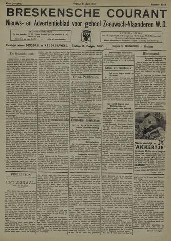 Breskensche Courant 1938-06-24