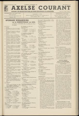Axelsche Courant 1966-09-03