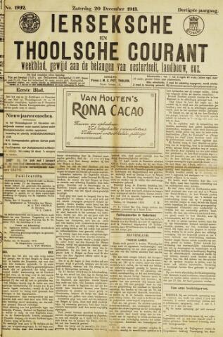 Ierseksche en Thoolsche Courant 1913-12-20