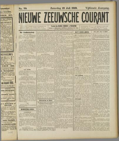 Nieuwe Zeeuwsche Courant 1919-07-12