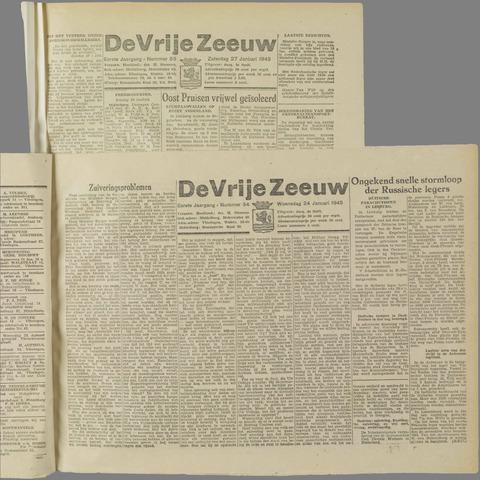 de Vrije Zeeuw 1945-01-24