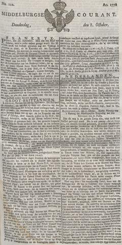 Middelburgsche Courant 1778-10-08