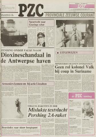 Provinciale Zeeuwse Courant 1983-07-28