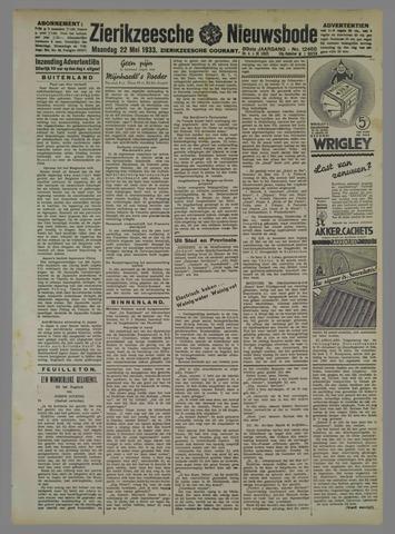 Zierikzeesche Nieuwsbode 1933-05-22