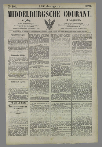 Middelburgsche Courant 1882-08-04