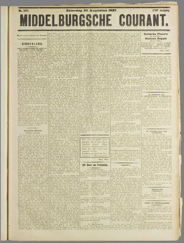Middelburgsche Courant 1927-08-20