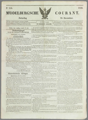 Middelburgsche Courant 1859-12-24