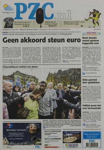 Provinciale Zeeuwse Courant 2011-11-02
