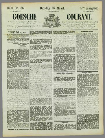 Goessche Courant 1890-03-25