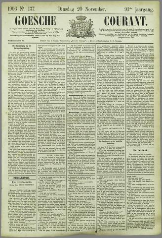 Goessche Courant 1906-11-20