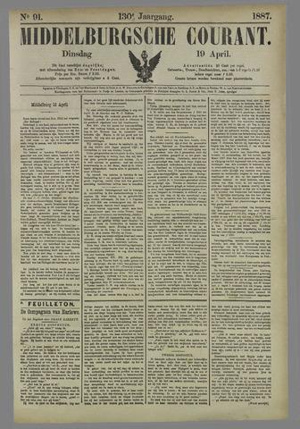 Middelburgsche Courant 1887-04-19