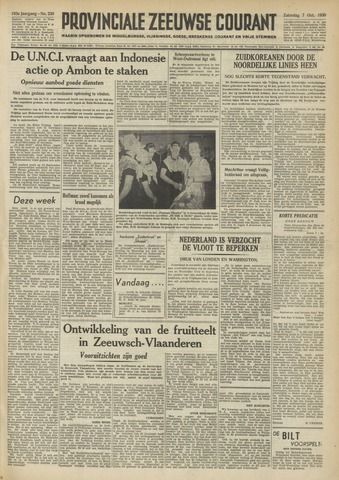 Provinciale Zeeuwse Courant 1950-10-07