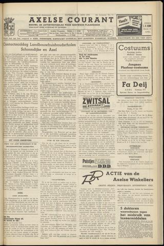 Axelsche Courant 1954-06-19