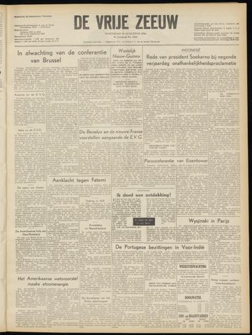 de Vrije Zeeuw 1954-08-18