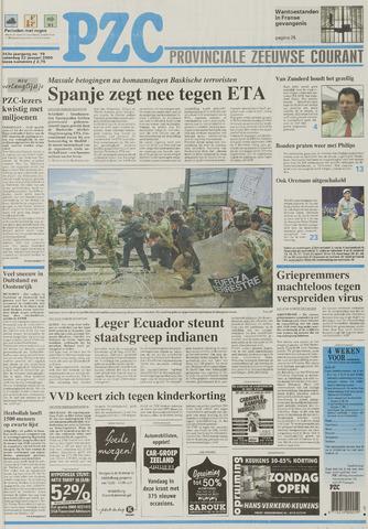 Provinciale Zeeuwse Courant 2000-01-22