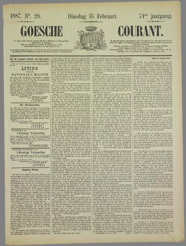 Goessche Courant 1887-02-15