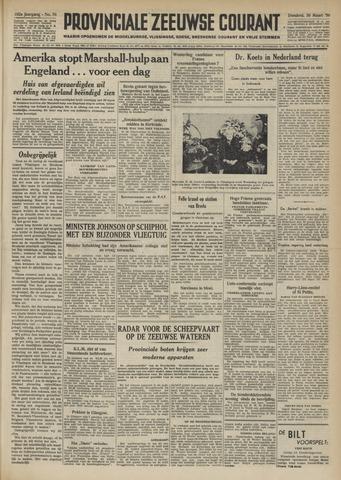 Provinciale Zeeuwse Courant 1950-03-30