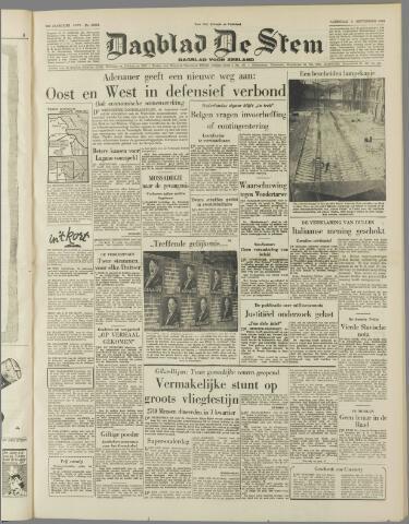 de Stem 1953-09-05
