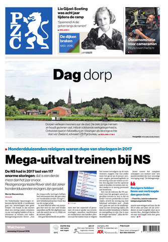 Provinciale Zeeuwse Courant 2018-01-24