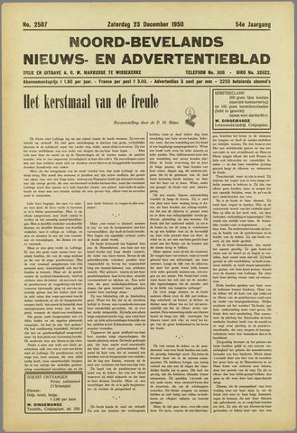 Noord-Bevelands Nieuws- en advertentieblad 1950-12-23