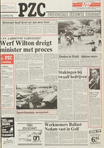 Provinciale Zeeuwse Courant 1986-04-28