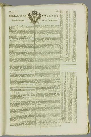 Middelburgsche Courant 1810-01-11