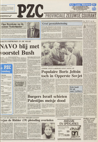 Provinciale Zeeuwse Courant 1989-05-30
