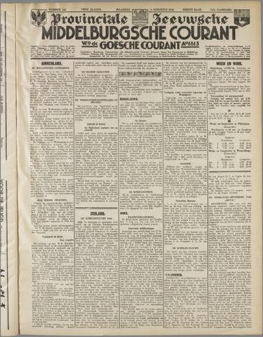 Middelburgsche Courant 1934-08-06