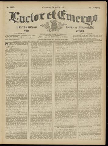Luctor et Emergo. Antirevolutionair nieuws- en advertentieblad voor Zeeland / Zeeuwsch-Vlaanderen. Orgaan ter verspreiding van de christelijke beginselen in Zeeuwsch-Vlaanderen 1915-03-24