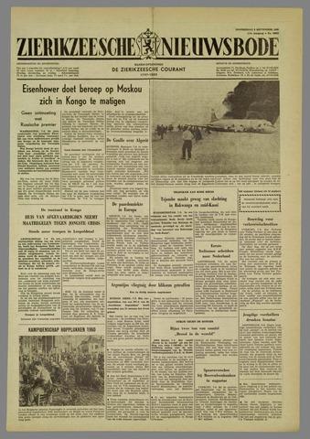 Zierikzeesche Nieuwsbode 1960-09-08