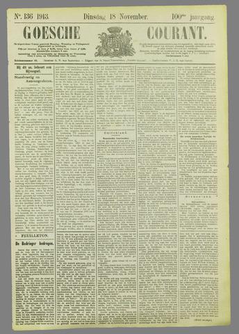 Goessche Courant 1913-11-18