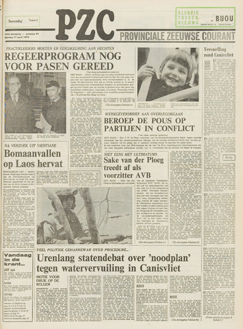 Provinciale Zeeuwse Courant 1973-04-17