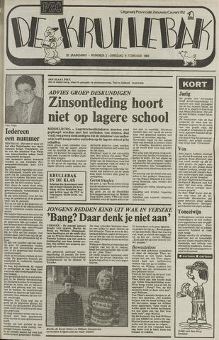Provinciale Zeeuwse Courant katern Krullenbak (1981-1999) 1982-02-09